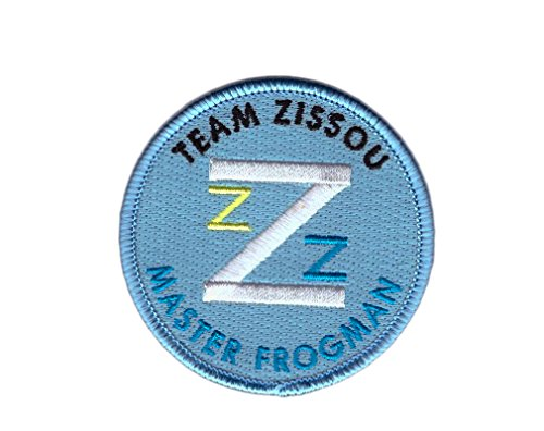 Life Aquatic Zissou Costume (Master Frogman Life Aquatic Team Zissou Shirt Costume Embroidered Patch - By Titan One)