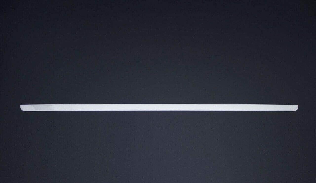 RIFTER//BERLINGO Garniture de hayon arri/ère en acier inoxydable chrom/é