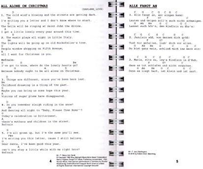 El Navidad ding – Kult Cancionero de Bernhard bitzel y Andreas Lutz – Cancionero con espiral y Bunter herzförmiger Ordenador Pinza: Amazon.es: Instrumentos musicales