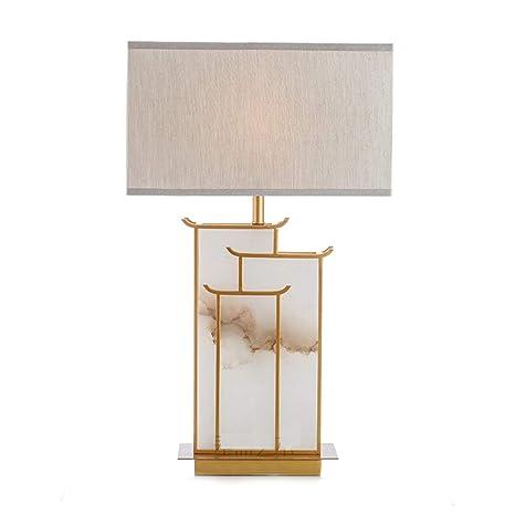 HARDY-YI Lámpara de mesa Estilo chino moderno Lámpara de ...