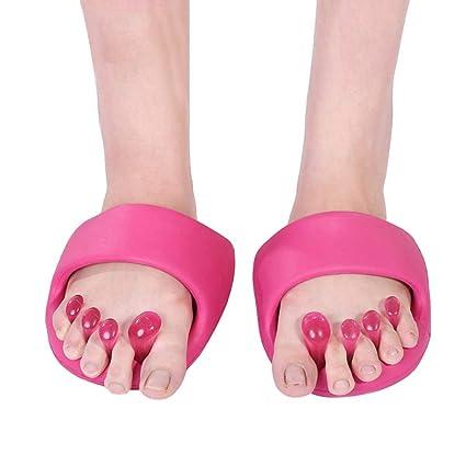 Amazon.com: Separadores de dedos de los pies, medio volante ...