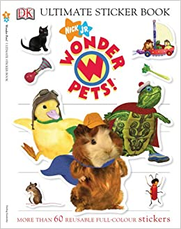 Ultimate Sticker Book: Wonder Pets! (Ultimate Sticker
