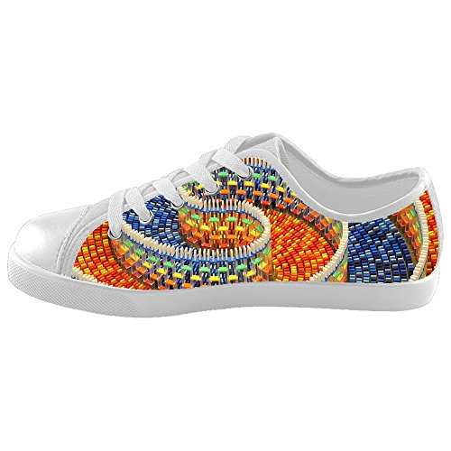Custom Kid's Shoes Spiral New Sneaker Canvas ()