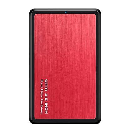Carcasa para Disco Duro Externo de 2,5 USB 3.0 Tipo C a SATA ...