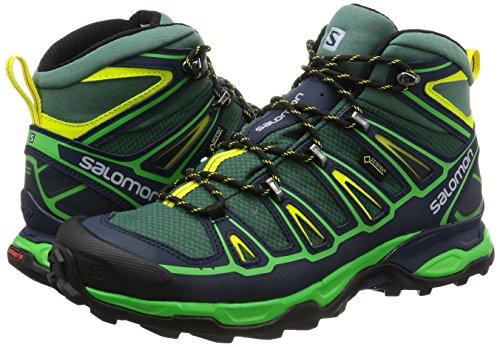 Salomon X Ultra Mid 2 Gtx, Herren Trekking & Wanderstiefel schwarz
