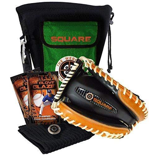 NO Errors WebGem Baseball Glove Break-in Kit - The Square Large Pocket Catchers Mitt Forming Tool