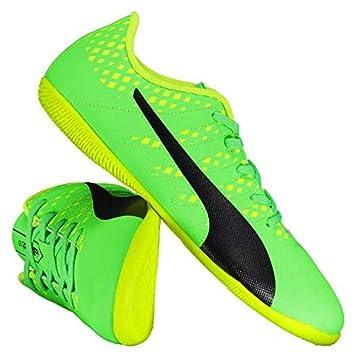 Chuteira Puma Evopower Vigor 4 IT Futsal Juvenil Verde  Amazon.com ... 652d294f78f8c