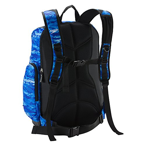 Speedo Printed Teamster 35L Backpack - Blue Oceans, One Size by Speedo (Image #2)