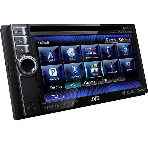 JVC KWNSX600 DVD-CD-USB 6.1-Inch Screen with Bluetooth
