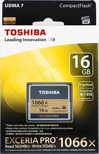 Amazon.com: Toshiba 16 GB Exceria Pro 1066 x Tarjeta ...
