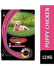 Supercoat Puppy Chicken Dog Food, 12kg