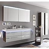 Badmöbel Set / Waschtisch / Unterschrank / Spiegelschrank