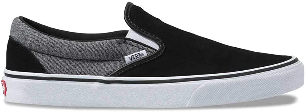Vans Suede Classic Slip On Suiting & Black Shoes Size 9