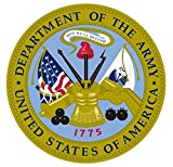 1 Set Peerless Popular United States Department of The Army Stickers Sign Indoor Car Decals Doors Size 3.5