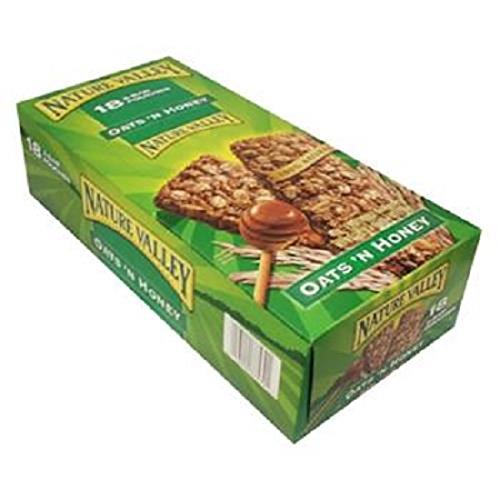 Product Of Nature Valley Crunch Bar, Oat & Honey, Count 18 (1.5 oz) - Granola/Cereal/Oat/Brkfast Bar / Grab Varieties & Flavors ()