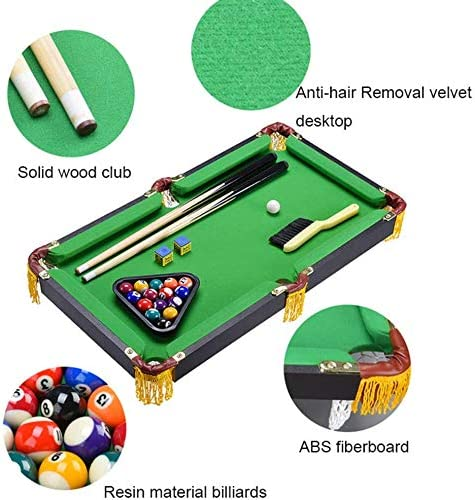 Mini Tabletop Ball Billiard Home Juegos De Billar Juegos Mesa De ...