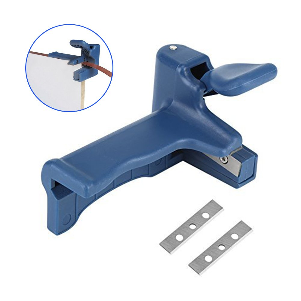 Woodworking edge sealing machine tool, plate sealing side strip PVC straight edge trimmer, sealing side cutting tool.for panel furniture, cabinet making, decoration and so on