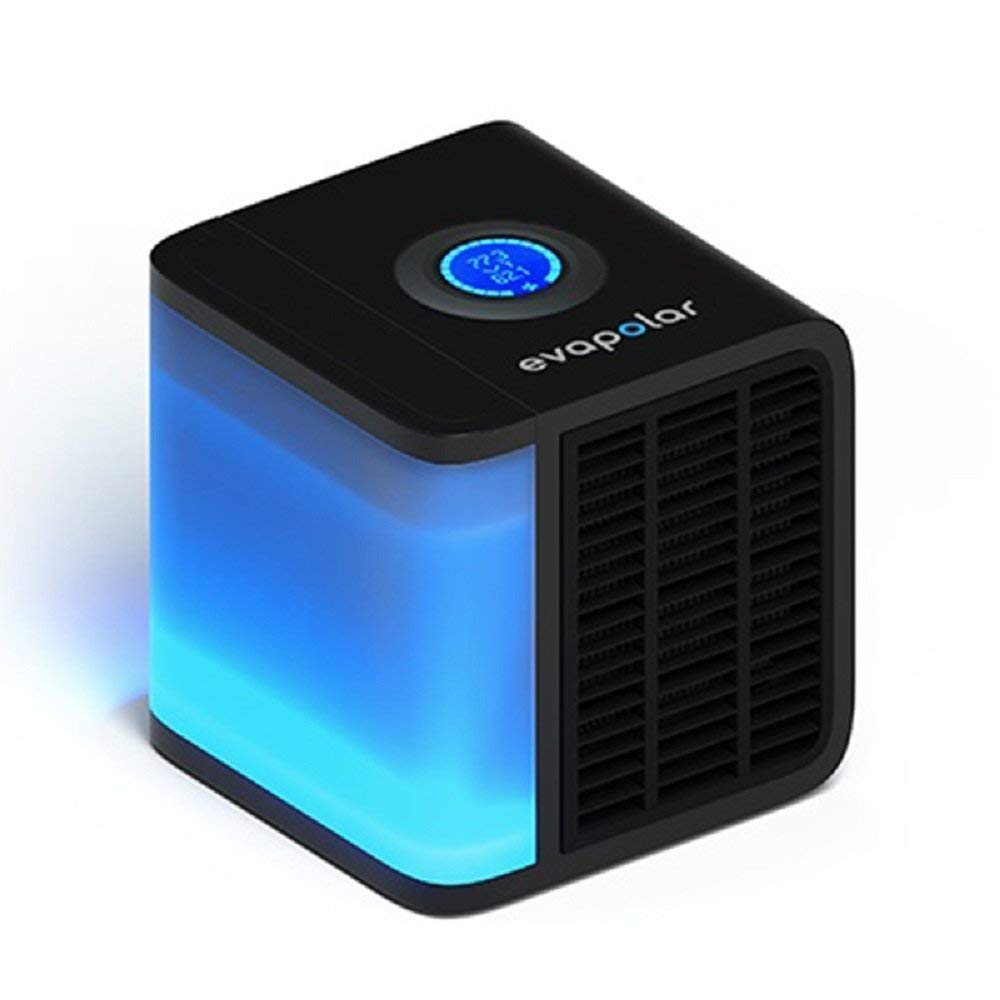 [Evapolar] [evaLIGHT Personal Evaporative Air Cooler and Humidifier/Cleaner, Portable Air Conditioner, Black] (並行輸入品)   B07JPCTTQ1