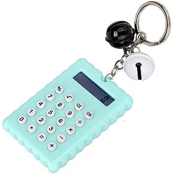 Kafuty Calculadora portátil para Estudiantes, Llavero de ...