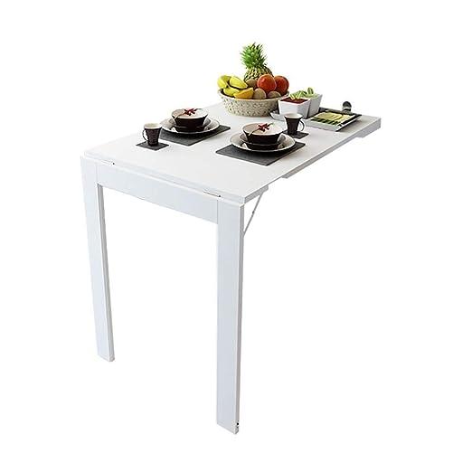 YWAWJ Bajar el tablero de mesa, cocina y comedor plegable ...