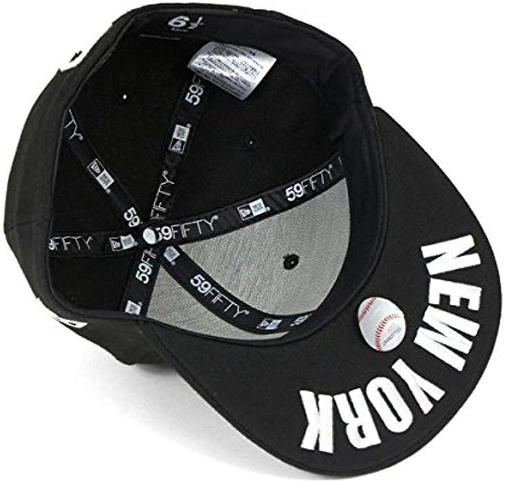 f910545c3a14d NEW ERA(ニューエラ) キッズ キャップ ニューヨーク ヤンキース アンダーバイザー ブラック 帽子. 戻る. ダブル ...