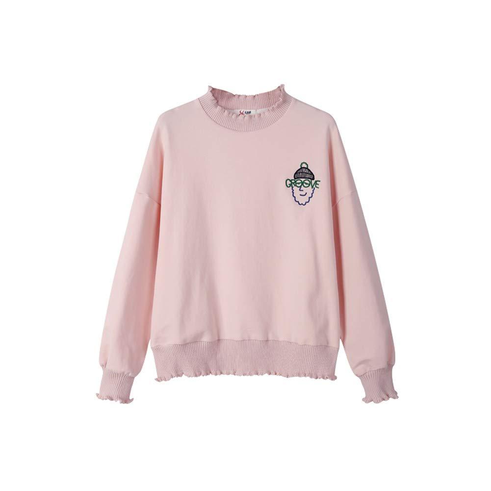 Männer und Frauen Sweatshirt Hoodies 3D-Pullover 2018 Pullover Weibliche Capless Kapuze Langärmelige Vielseitige Studenten Lose Herbstkleid Einzelnes Hemd