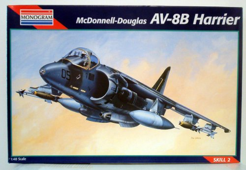 AV-8B Harrier Scale 1:48 by Revell