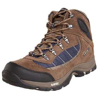 Hi-Tec Men's Natal Mid WP Light Hiking Shoe,Donkey Grey/Core Blue/Stone,7 M