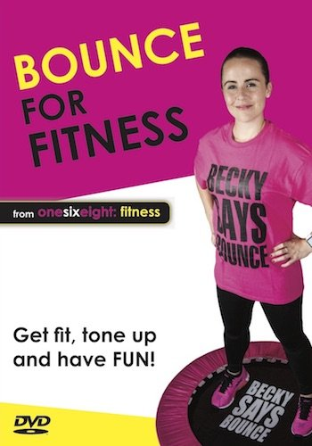 Bouncing para ponerse en forma – Entrenamiento con Mini Cama Elastica en DVD de onesixeight fitness (Ingles)