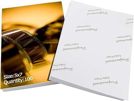 Eono by Amazon Papel fotográfico satinado brillante para impresora ...