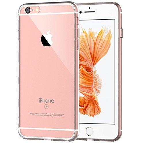 "iPhone 6s Plus Hülle, JETech® Apple iPhone 6 Plus 6s Plus 5.5"" Hülle Tasche Schutzhülle Case Cover Weiche Flexible Extrem Dünne Transparente Haut Kratzer-Beweis für Apple iPhone 6s Plus und iPhone 6 P"