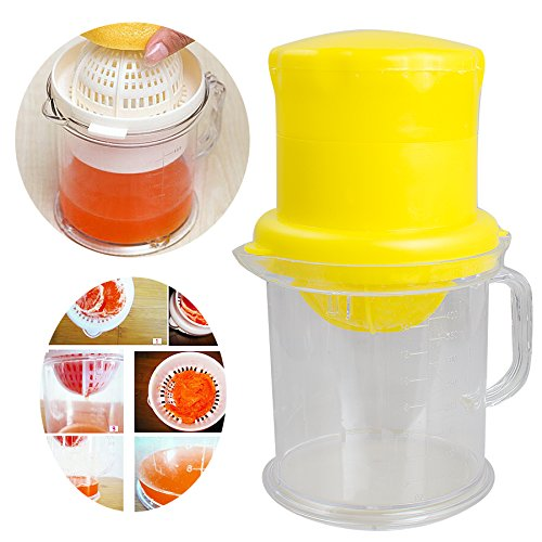 Purewill Mini manual juicer fruit juicer juice machine Universal Multi Juicer Ideal for Juicy Fruit liquidizer for kitchen Tool