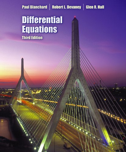 Books : Differential Equations (with CD-ROM)