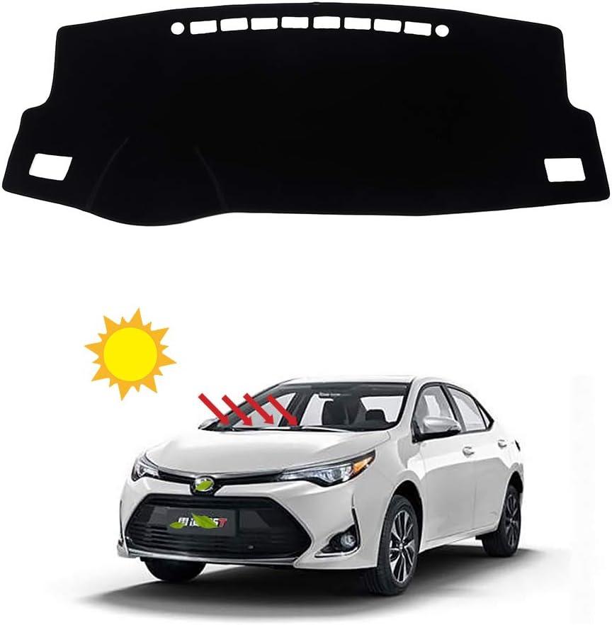 BLAKAYA Compatible with Auto Car Dashboard Carpet Dash Board Cover Mat Dash Protector Compatible with 2014 2015 2016 2017 2018 2019 Toyota Corolla Sun Cover Pad