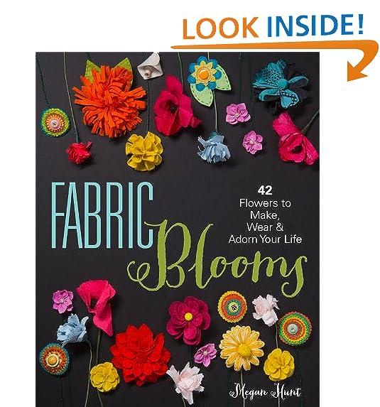 Felt flower amazon fabric blooms 42 flowers to make wear adorn your life mightylinksfo