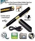 Voltac  Spy Hd Pen Camera With Voice-Video Recorder And Dvr-Hidden-Camcorder (Multi-color) Model 416358