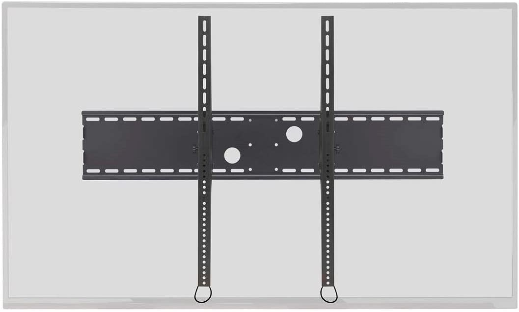 Monoprice Stable Series Extra Wide Tilt TV Wall Mount Bracket for TVs 60in to 100in Max Weight 220 lbs VESA Patterns Up to 1000×800 Works with Concrete Brick UL Certified