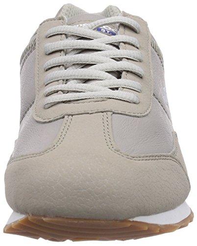 KangaROOS Teno, Baskets Basses femme Gris - Grau (Grey 200)