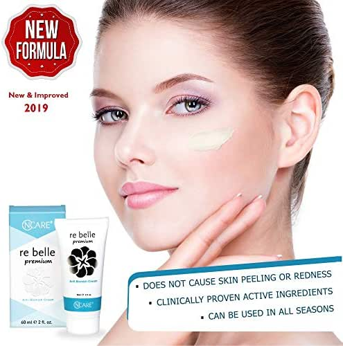 Rebelle Premium Anti-Aging, Skin Whitening, Moisturizing and Anti-Pigmentation Cream for Body, Face, Neck, Bikini Areas. Uneven Skin Tone, Dark Spots, Discoloration and Scar Remover for All Skin Types