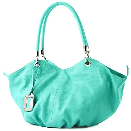 Mint 228 Italian Women's Shopper Bag Leather Hobo Handbag 1YS07q1