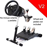 Deluxe Racing Steering Wheelstand for Thrustmaster T300RS(PS4) TX458(Xbox One)TX Leather,T150 and TMX! Original Wheel Stand Pro Stand V2. Wheel and Pedals Not included from Wheel Stand Pro