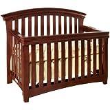 Westwood Design Stratton Convertible Crib with Guard Rail, Virginia Cherry