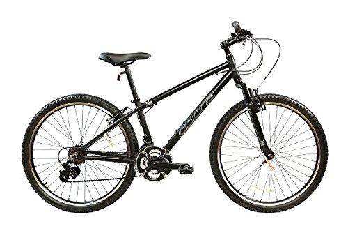"""Alton Corsa X-21 700C Wheel 21-Speed Alloy Frame Mountain Bike, Black, 19""""/Medium"""
