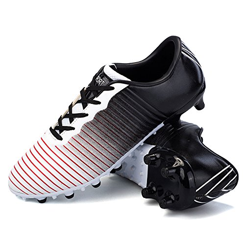 4e29939c5 YING LAN Men's Boy's Turf Cleats Soccer Athletic Football Outdoor/Indoor  Sports Shoes ...