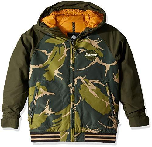 (Burton Boys' Game Day Jacket, Mountain Camo/Resin, Large)