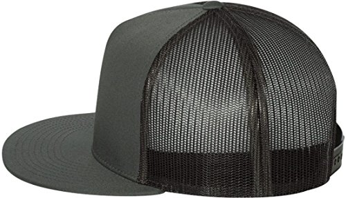 Yupoong Five-Panel Classic Trucker Cap. 6006 - (Snapback Cap Charcoal)