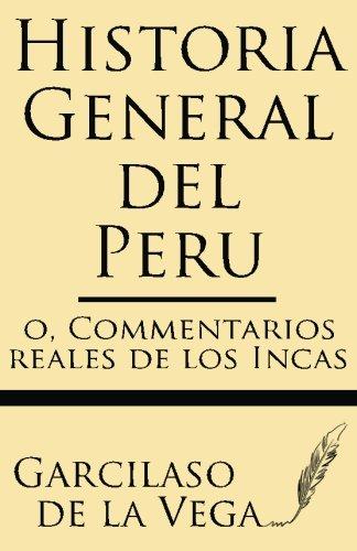 Historia General Del Peru: Amazon.es: Vega, Garcilaso: Libros