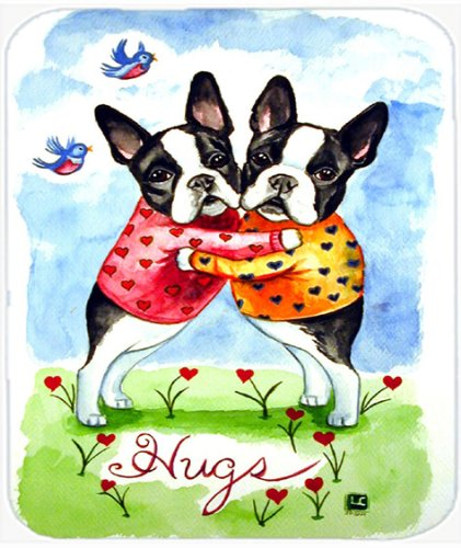 Caroline's Treasures Mouse/Hot Pad/Trivet, Hugs Boston Terrier (Boston Trivet)