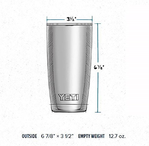 YETI Rambler 20 oz Stainless stainless steel cleaner Insulated Tumbler along with sport bike helmet Stainless stainless steel Tumblers