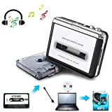 Cassette to MP3 Converter,USB Cassette Player to MP3 Converter for PC,Laptop,Personal Computers,Mac with Headphones,from Tapes to Mp3